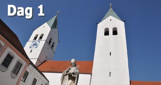 Biergarten rundtur Freising