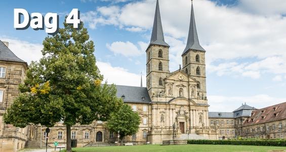 Bamberg Biergarten rundtur