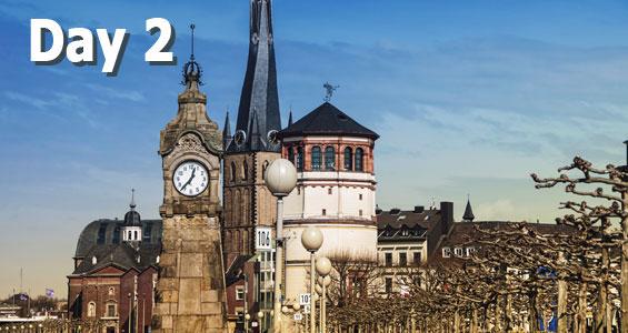 600 mile road trip in Germany Day 2 Dusseldorf