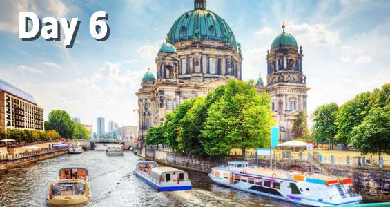 600 mile road trip in Germany Day 6 Berlin