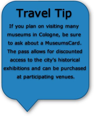 Travel tips Cologne