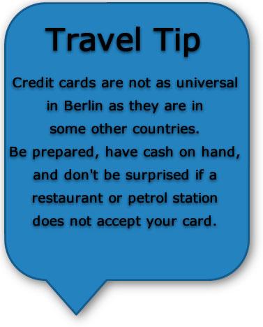 Berlin travel tip
