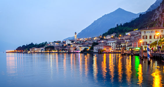 Italien roadtrip översikt: Limone