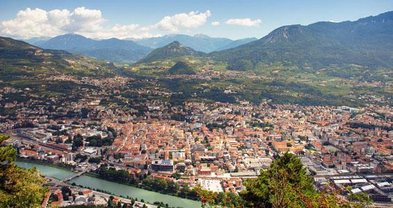 Italien roadtrip översikt: Trento