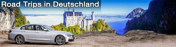 Mietwagen Road Trip in Deutschland