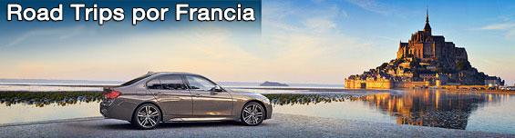 Alquiler de coches - Road Trip en Francia