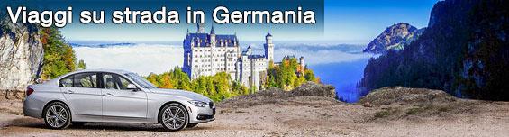 Organizza un Road Trip con l'autonoleggio in Germania