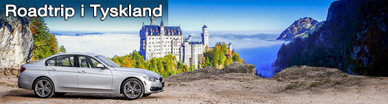 Road Trip Tyskland - Leiebil i  Tyskland