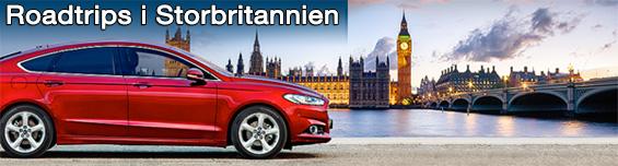 Roadtrip i Storbritannien med hyrbil från Auto Europe