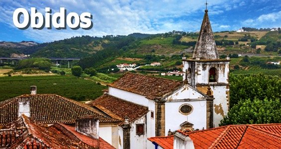 Kiertomatka Portugali Obidos