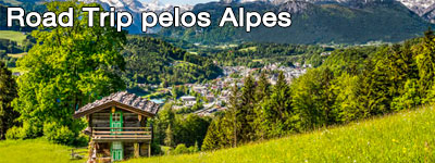 Road Trips pelos Alpes - Road Trip Alemanha