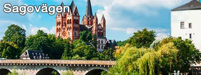 slott, broar och skogar på roadtrip i Tyskland