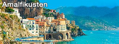 En stad vid Amalfikusten
