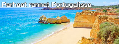 Kiertomatka parhaat rannat Portugalissa