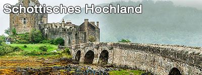 Schottische Highlands Road Trip