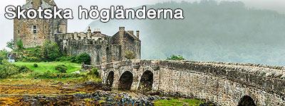 Ett slott i skotska högländerna