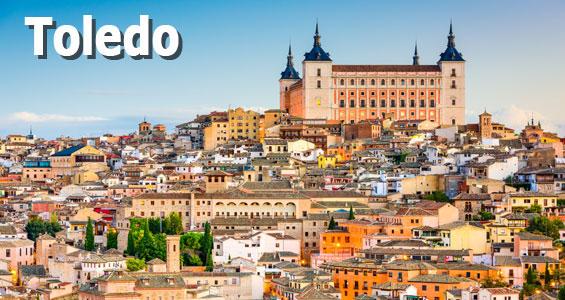 Keski-Espanjan kiertomatka Toledo
