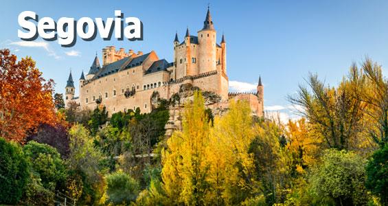 Roadtrip centrala Spanien Segovia