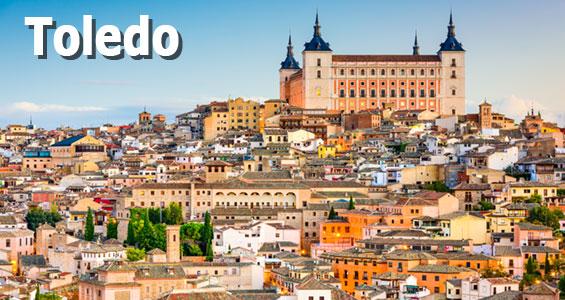 Roadtrip centrala Spanien Toledo