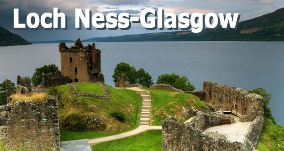 Kiertomatka Skotlannin nähtävyydet Loch Ness - Glasgow