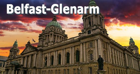 Road Trip de Game of Thrones dia 1: de Belfast a Glenarm