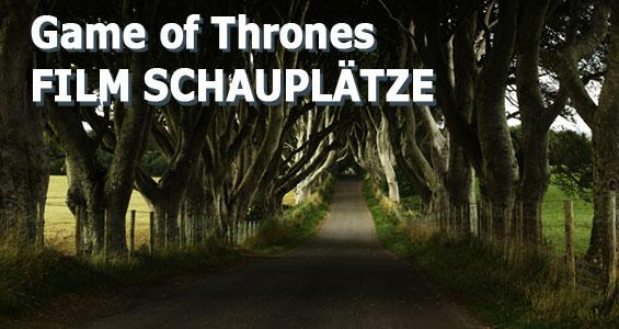 Road Trip Übersicht Drehorte berühmter Filme in Großbritannien: Game of Thrones Nordirland
