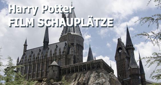 Road Trip Übersicht Drehorte berühmter Filme in Großbritannien: Harry Potter England