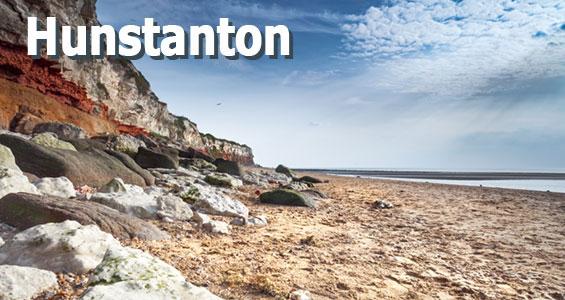 Kiertomatka Norfolk rannikko Hunstanton Englanti