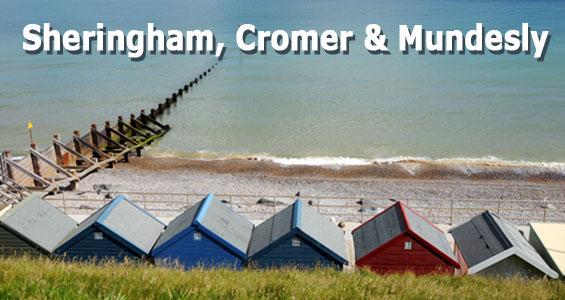 Kiertomatka Norfolk rannikko Sheringham Cromer Mundesly Englanti