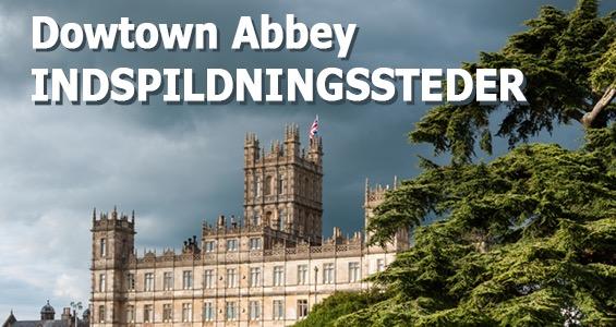 Road Trip oversigt berømte filmset i Storbritannien: Downton Abbey England