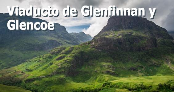 Road trip Lugares de rodaje - Viaducto de Glenfinnan y Glencoe