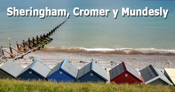 Road trip Sheringham, Cromer y Mundesly - Ruta por la costa de Norfolk - Inglaterra