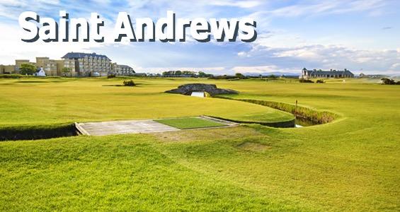 Road trip Campos de golf - St Andrews