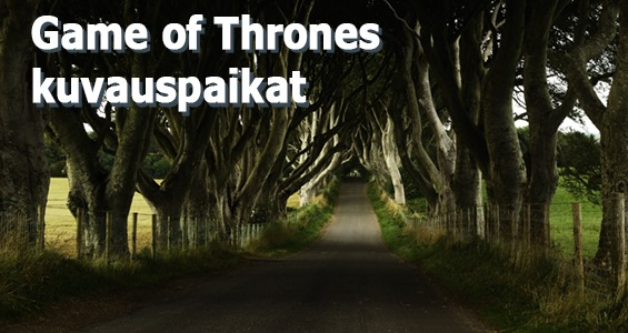 Kuuluisat elokuvauskohteet kiertomatka: Game of Thrones Northern Irlanti