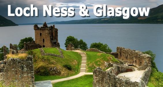 Road trip sites touristiques d'�cosse du Loch Ness � Glasgow