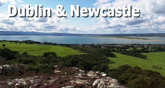 Road trip des terrains de golf - Dublin et Newscatle