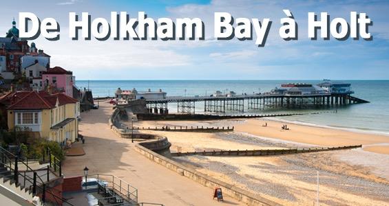 Road trip de Holkham Bay à Holt - Route le long de la côte du Norfolk - Angleterre