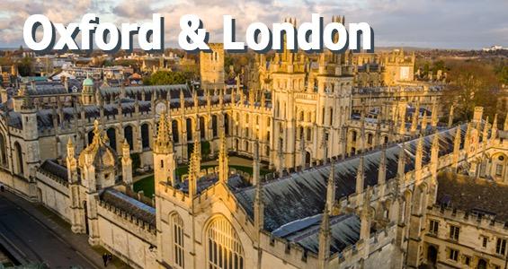 Road trip sur les lieux de tournage - Oxford et Londres