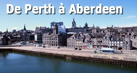 Road trip sites touristiques d'Écosse de Perth à Aberdeen