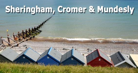 Road trip Sheringham, Cromer et Mundesly - Route le long de la côte du Norfolk - Angleterre