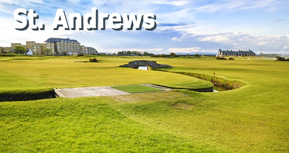 Road trip des terrains de golf - St Andrews