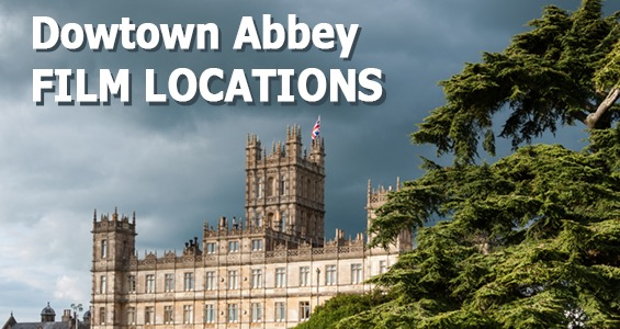 Road Trip famous film sets in the UK: Downton Abbey England