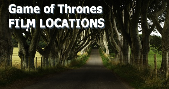 Road Trip overview famous film sets in the UK: Game of Thrones Northern Ireland