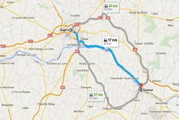 Loire Valley Road Trip Overview Angers