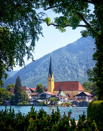 German Alpine Road Trip Tegernsee