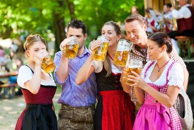 Путешествие по биргарденам в Германии