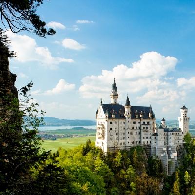 Rota Romântica, Alemanha - Castelo de Neuschwanstein