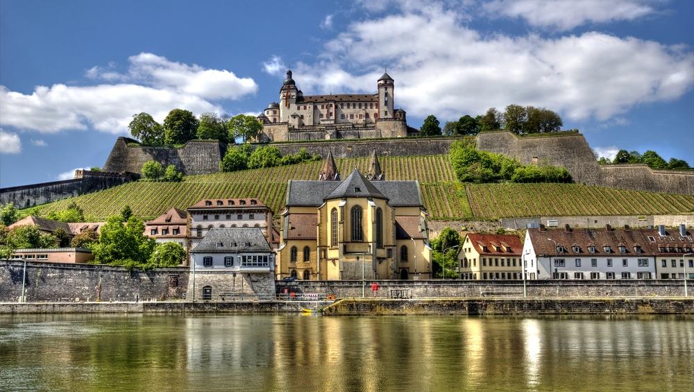 Romanttinen reitti Würzburgin linna
