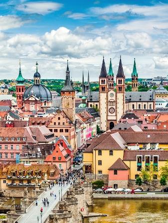Rota Romântica, Alemanha - Cidade de Würzburg