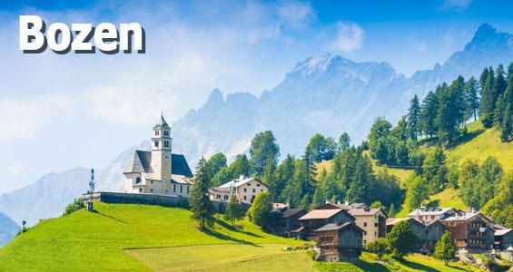 Italien Road Trip Übersicht Bolzano